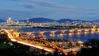 Seongsan Bridge and the Han River | by travel oriented