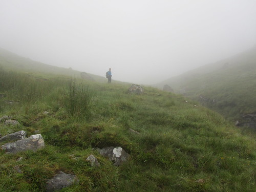 Up into the cloud of Gleann Cuirnean   by Guy R