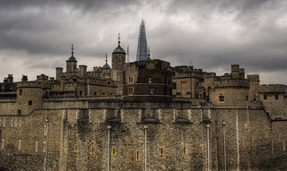 The Shard over the Tower of London | by neilalderney123