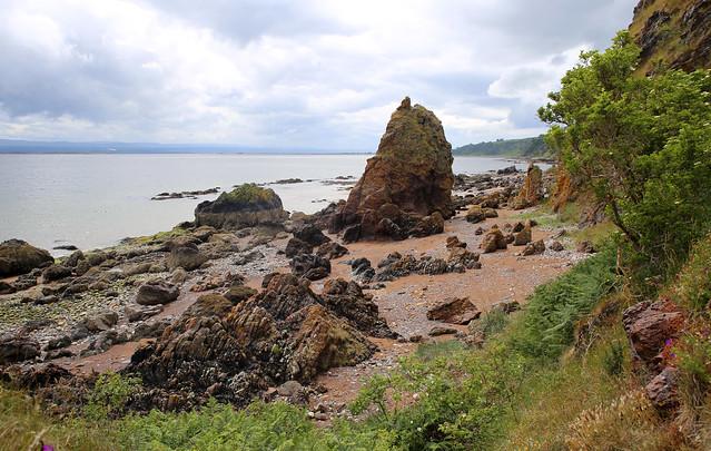 The beach north of Rosemarkie, Black Isle