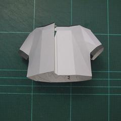 วิธีทำชุดนักบอลฟุตบอลโลก 2014 ทีมเยอร์มันสำหรับโมเดลหมีบราวน์ (FIFA World Cup  Soccer  Germany  Jersey Papercraft Model) 008