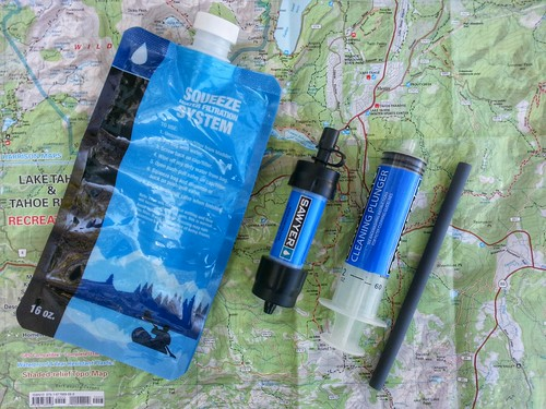 Sawyer Mini Water Filter | by Jeff Moser / BikeCarson.com