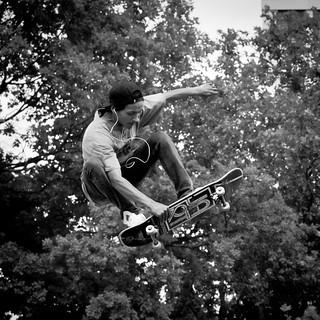 flying skater hears music | by x1klima
