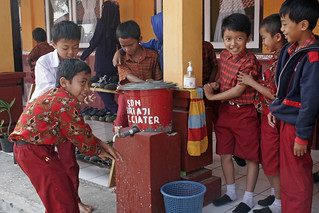 Handwashing with soap | by World Bank Photo Collection