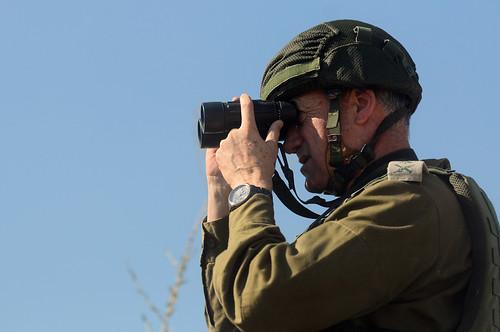 Lt. Gen. Benny Gantz Visits Nahal Oz   by Israel Defense Forces
