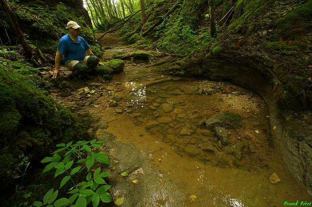 Marmite amont du Ruisseau de Valbois