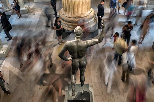 Statue, New York Museum of Metropolitan Art | by Timothy Neesam (GumshoePhotos)
