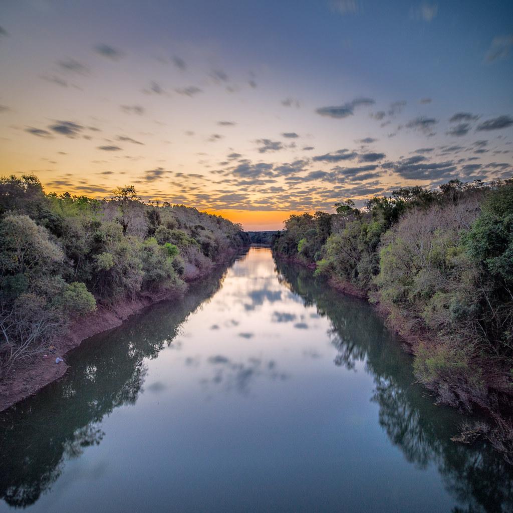 Uruguay River Uruguay River Misiones, Argentina 2014/08/23.