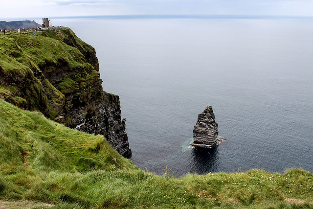O'Brien's Tower & An Branán Mór Sea Stack