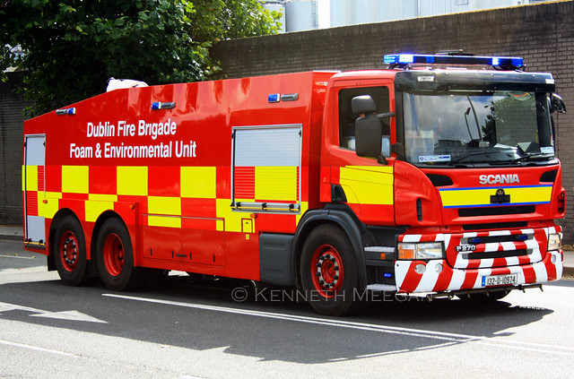 Dublin Fire Brigade Foam & Environmental Unit