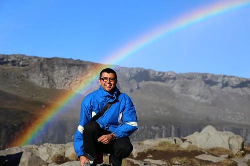 Neerav Bhatt - Rainbow at Dettifoss waterfall Vatnajökull National Park Northeast Iceland   by neeravbhatt