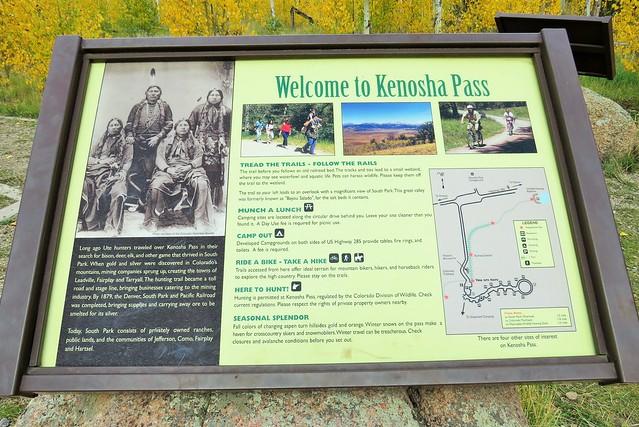 Welcome to Kenosha Pass