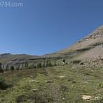Below Bearhat Mountain