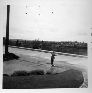 Girl with hoop, 1960