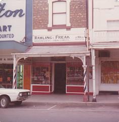 Murray Street 116 in 1975 Rawling and Freak - Harold Moran hairdresser