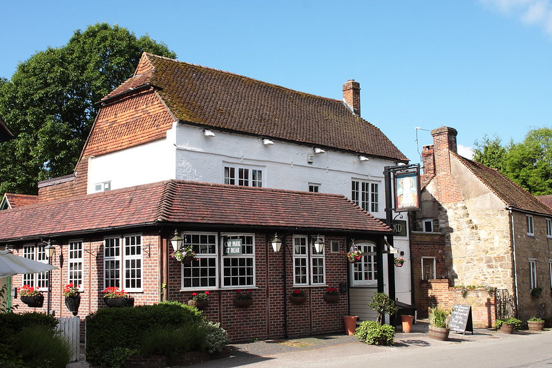 The Queen's Head pub West Chiltington West Sussex UK