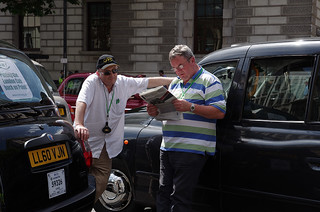 London Taxi drivers strike against Uber | by The Weekly Bull