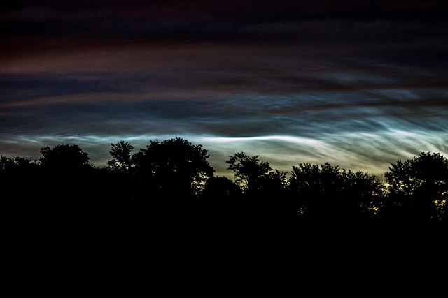 Dawn Noctilucent Clouds from Oxfordshire (5) 07/07/14