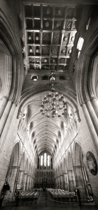 Southwark Cathedral by pinhole