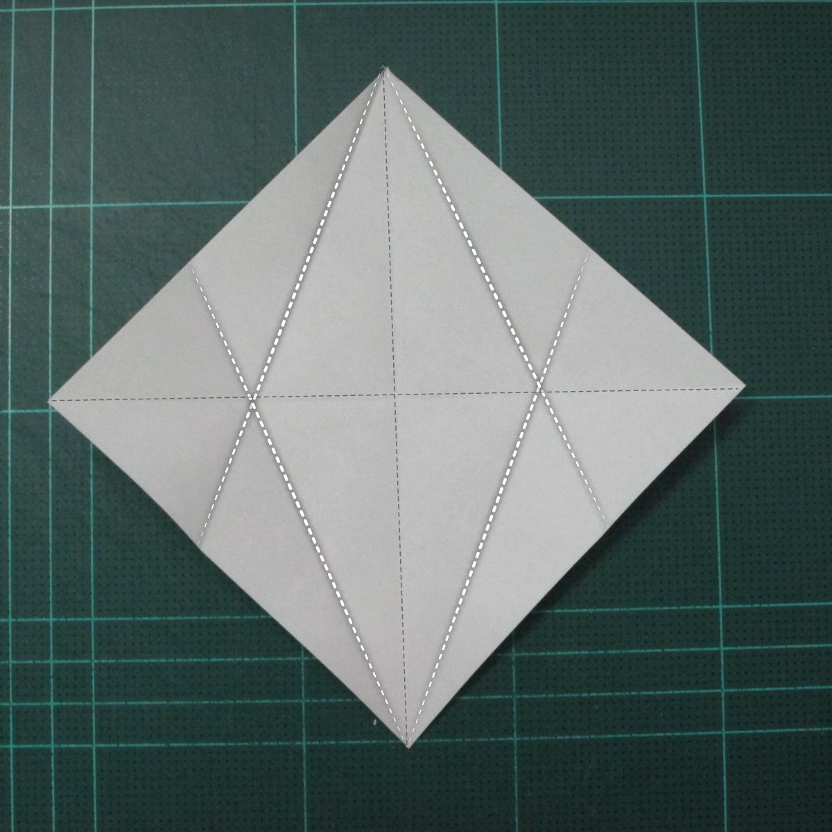 การพับกระดาษเป็นรูปแมวน้ำ (Origami Seal) 002
