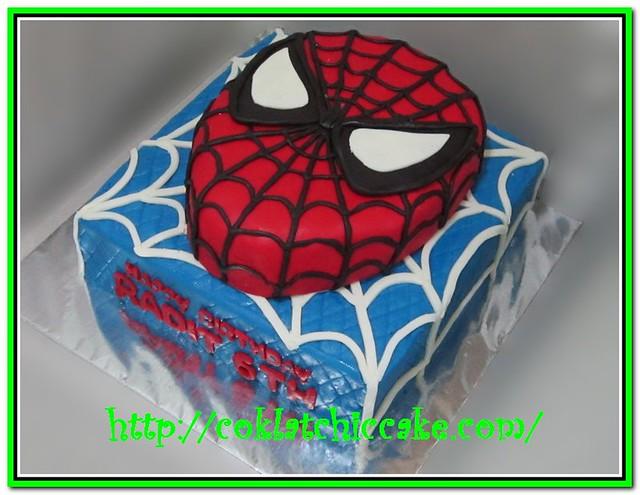 Kue Ulang Tahun Spiderman Niken I Dh Flickr