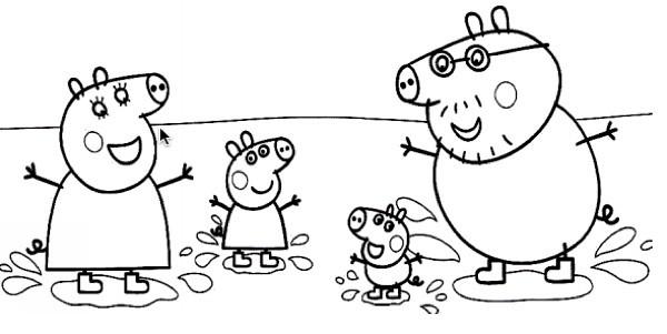 Desenho Peppa Pig 3 Original Desenhos Do Peppa Pig Para C Flickr