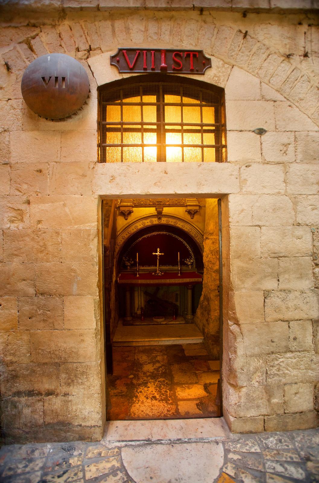Jerusalem_Via Dolorosa_Station 7 (1)-Noam Chen_IMOT