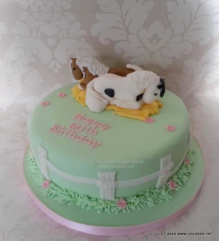 Astonishing Horse Themed 60Th Birthday Cake A Cake For A Horse Lover Flickr Funny Birthday Cards Online Elaedamsfinfo