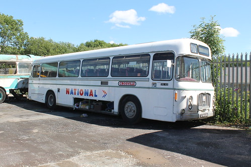 Crosville CRG163 EFM163H Express Motors depot 5 July 2014 | by DMC1947