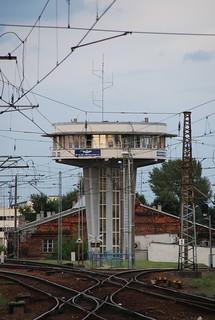 Warszawa Wschodnia dispatcher tower | by cargo.cult