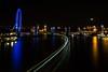 Thames long exposure from Waterloo Bridge. by Owen Llewellyn