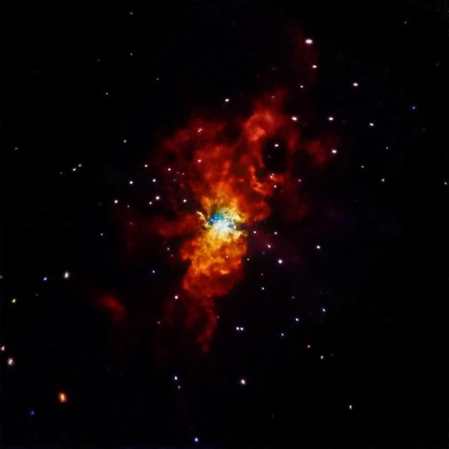 Supernova SN2014J (NASA, Chandra, 08/22/14)