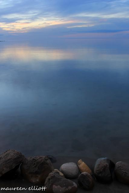 Rocks and Still Water