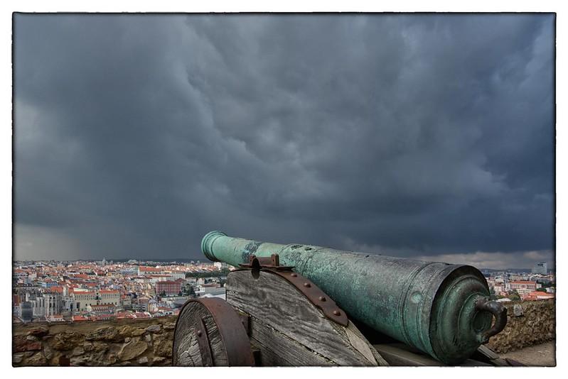 Protection - Castelo São Jorge, Lisbon Portugal