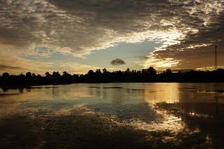 Angel silhouette sunrise   by rkramer62