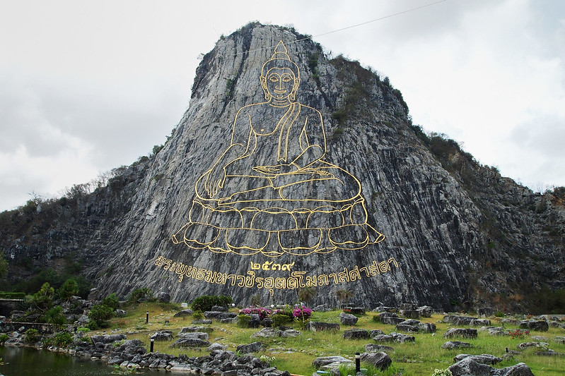 Buddha Mountain, Pattaya, Thailand 11/04/2015