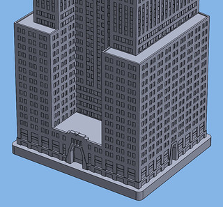 1:2000 Chrysler Building Base | by Doctor Octoroc