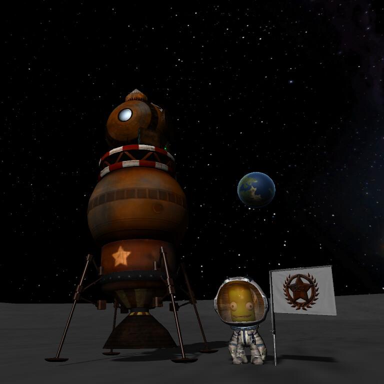 Ksp Mun Rocket