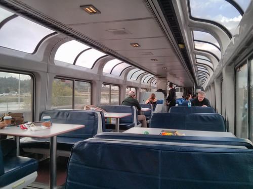 train rail amtrak superliner observationcar