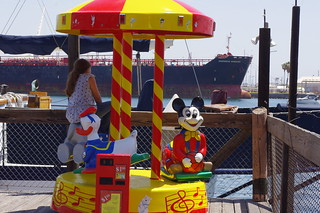 $1.00 Kiddy Rides at the Harbor