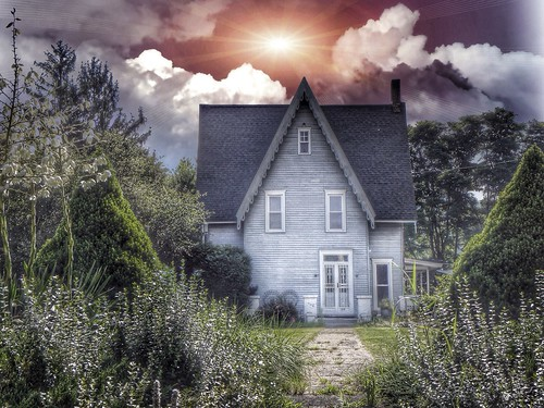 """street roof sunset house ny flower home st architecture clouds sunrise garden south main gothic dramatic style landmark s antebellum gable attraction 1011 1849 county"""" horseheads onasill """"chemung"""