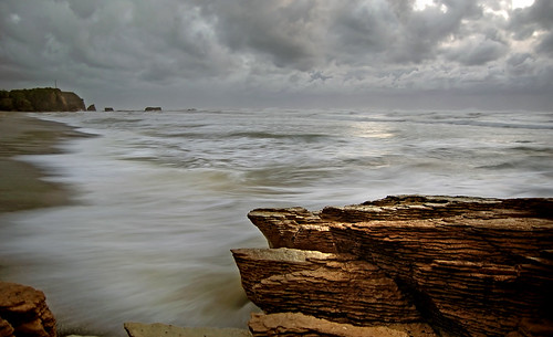 A rugged coastline.NZ