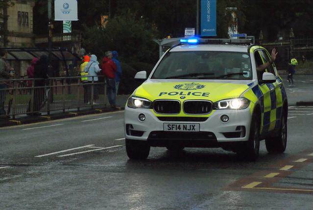 Glasgow 2014 Cycling - Road Race, University Avenue