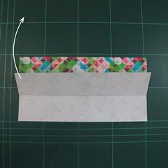 วิธีพับกล่องของขวัญแบบมีฝาปิด (Origami Present Box With Lid) 004