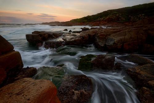 longexposure sunrise australia newsouthwales portstephens waterflow fishermansbay boatharbour paulhollins nikond610
