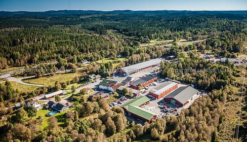 sverige industri swe västragötaland borås flygfoto bråten träindustri gånghester kråkered