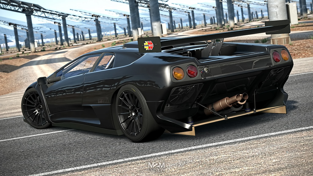 Lamborghini Diablo Gt2 98 Location Gemasolar Car Specifi Flickr