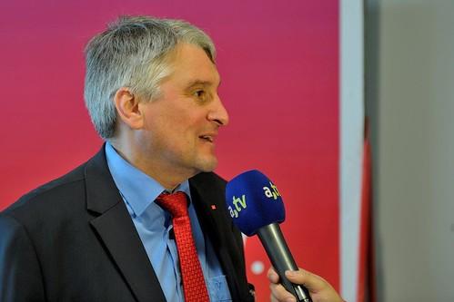 Beim Interview   by Harald Güller