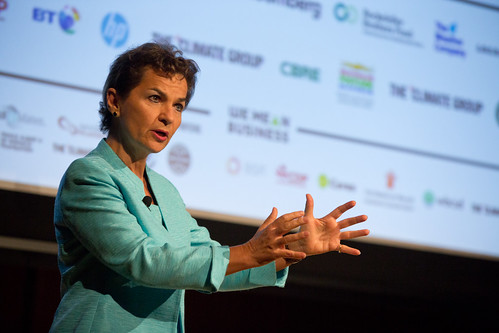 Christiana Figueres at Climate Week NYC 2014 | by TheClimateGroup