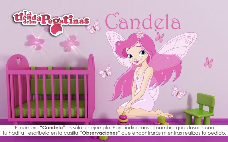 Hadas Vinilos Decorativos Infantiles.Vinilos Decorativos De Pared Infantiles Fantasia Tc Fn 000